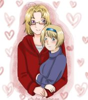 APH: In your arms by Anila-chan
