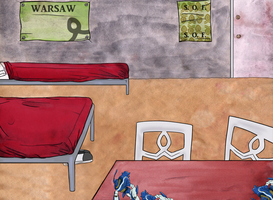 Eureka SeVN: Dominic's Room (orphanage in Warsaw) by ColorMyMemory