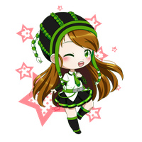Chibi for SheepiAnna by ChibiSheepi