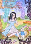 Friends in Wonderland by Rose-sary