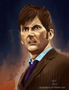 The Tenth Doctor by KarimT