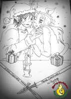 CHRISTMAS 2011 FANART CONTEST by Martyelfo2