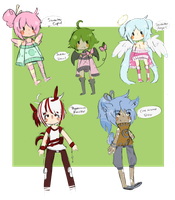 Free Adopt Batch [closed] by SugarSweetEclair