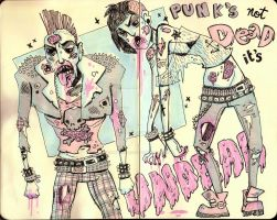 punk's not dead by unclepatrick