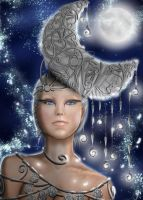 Moon Goddess by JulijanaM