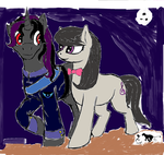 Octavia and Geeky Midnight Stroll by scottish-geeky