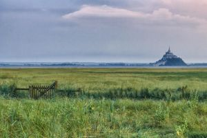 Mont St Michel Bec D Andaine by hubert61