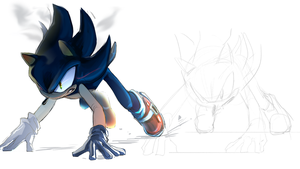 Dark Sonic by Legeh