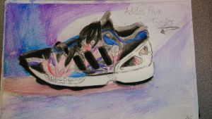 Adidas Flux Watercolor by Francisco-Jae