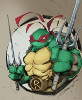 Raph : TMNT (Steven Sanchez) by aeanchile