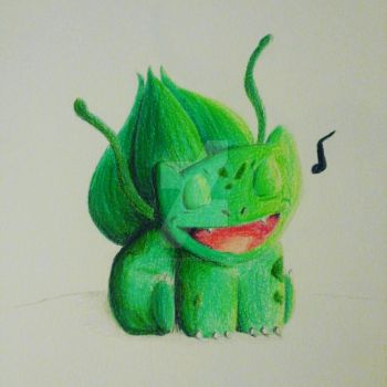 Bulbasaur from Pokemon by okamiofwar710