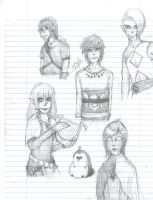 Skyward Sword Sketches C: by Kyaa-L