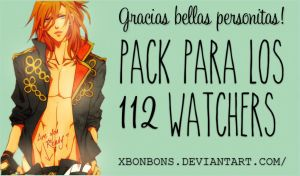 Packsito para mis 112 watchers~ by xMissOMG
