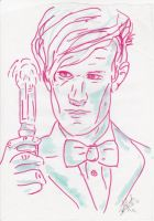 The Eleventh Doctor by audreydoesstuff