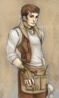 Steampunk sorta guy by batchix
