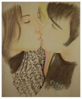 -.Kiss.- by lampii