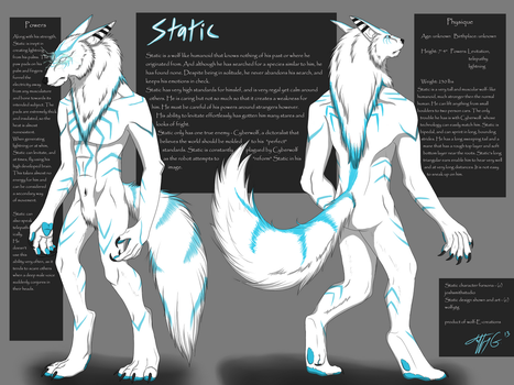 Static ref sheet by wolfytg