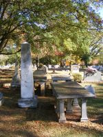 Autumn Cemetery 25 by DKD-Stock