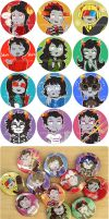 homestuck alpha troll buttons by waltza