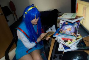 Lucky Star - Daily routine by YumiAznable