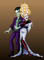 Bride of Jokerstein by msciuto