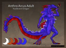 Nudibranch Dragon Anthro Adopt Auction C by Naeomi