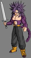 Future Trunks SSJ4 V5 by theothersmen