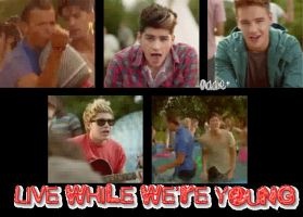 Live While We're Young gif9 by addieditions