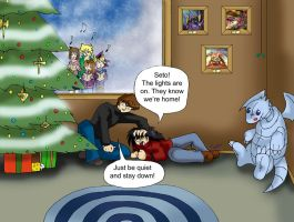 YGO: Christmas with the Kaibas by Ty-Chou