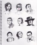 Movie stars from 50's, mostly by Tysirr