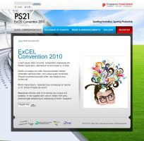 ExCEL Convention 2010 subpage by armanique