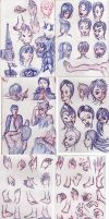 Sketch compilation by Lathrin