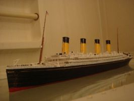 RMS Olympic Model by MyNamezQuagmire