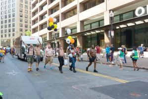Boston Pride Parade,To Be Bare Chested With Pride by Miss-Tbones