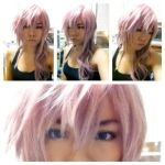 Lightning wig and makeup test by red-cluster