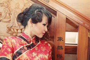 Cheongsam Girl by Rotitawarr