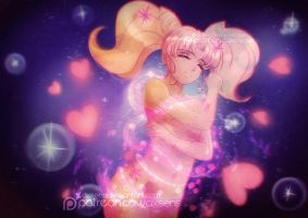 Moon Prism Power, Make Up! .Chibiusa. by Axsens