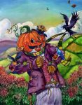 Scarecrow-Fall Friends by aaronboydarts