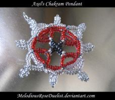 Axel's Chakram Pendant by MelodiousRoseDuelist