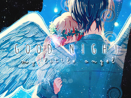 Good Night, my little angel by umiko123