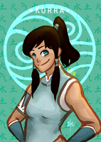 Korra Book 1-3 by sugarcoffeecup