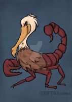 Scorpelican by khallion