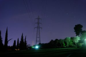 Power Lines by blueblueelectricblue