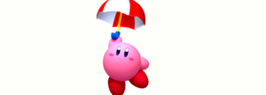 Parasol Kirby by scriptureofthescribe