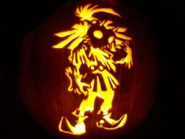 Majora's Mask Skull Kid by Draug419
