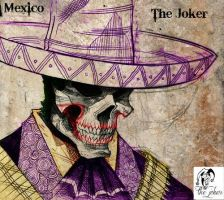 mexican joker skull by jokercrazy