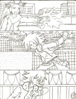 The good and The bad 2 pg 1 by SONICJENNY