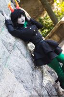 Military Dress Porrim - Homestuck by Mostflogged