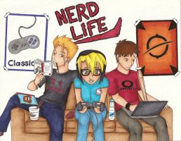 Nerd Life by Darkfire-JD