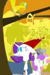 Over The Everfree Wall by thedifferentguy